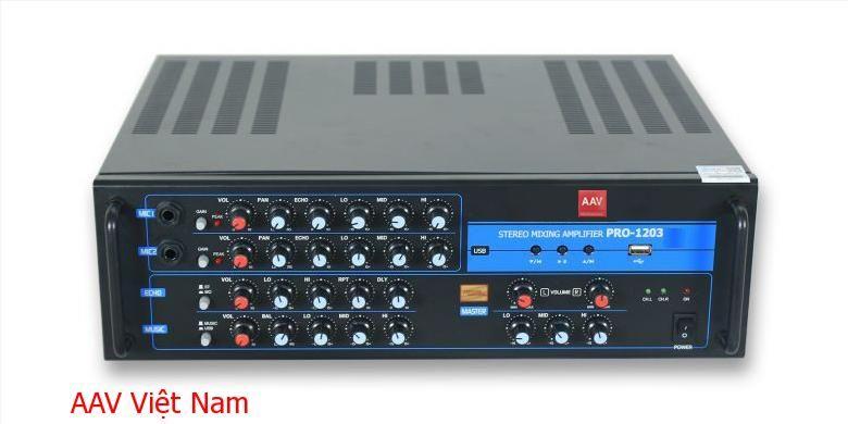 Amply AAV Pro-1203 chất lượng cao bền đẹp