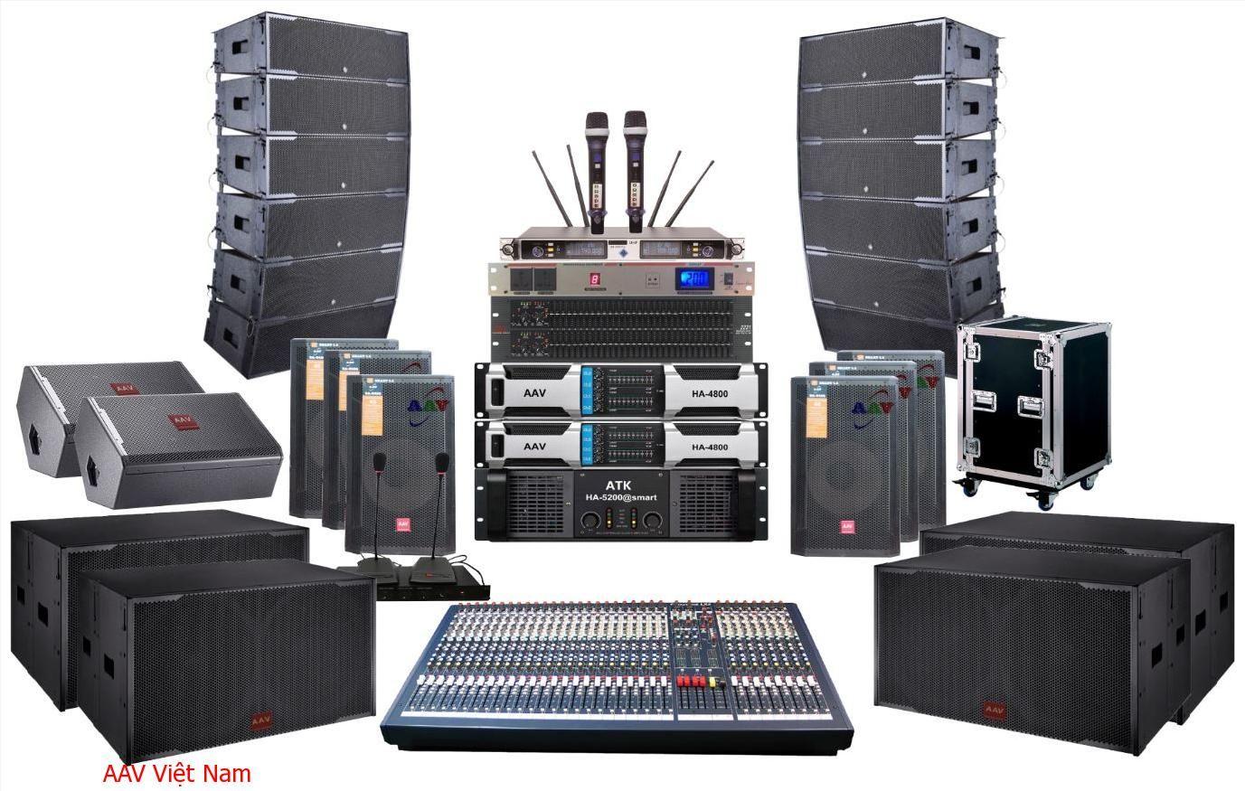 Dàn âm thanh hội trường nhà văn hóa tỉnh ủy hiện đại, chuyên nghiệp