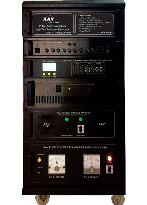 Tăng âm truyền thanh AAV VPA-3000