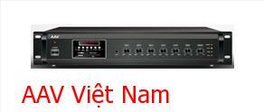 Amply Mixer truyền thanh AAV: VA- 300