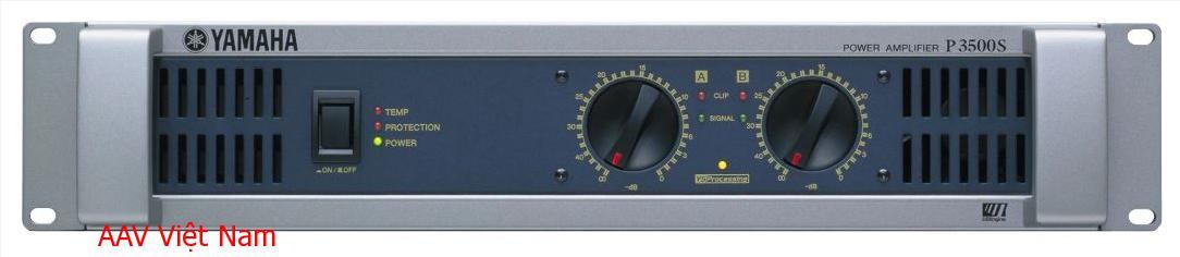 Amply Yamaha P3500S - Amply chuẩn cho âm thanh hội trường
