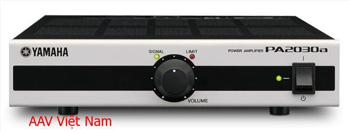Amply Yamaha PA2030a cho âm thanh cực đỉnh