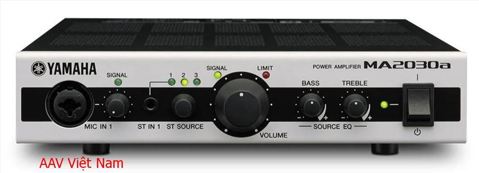 Amply Yamaha MA2030a hiện đại, đa tính năng