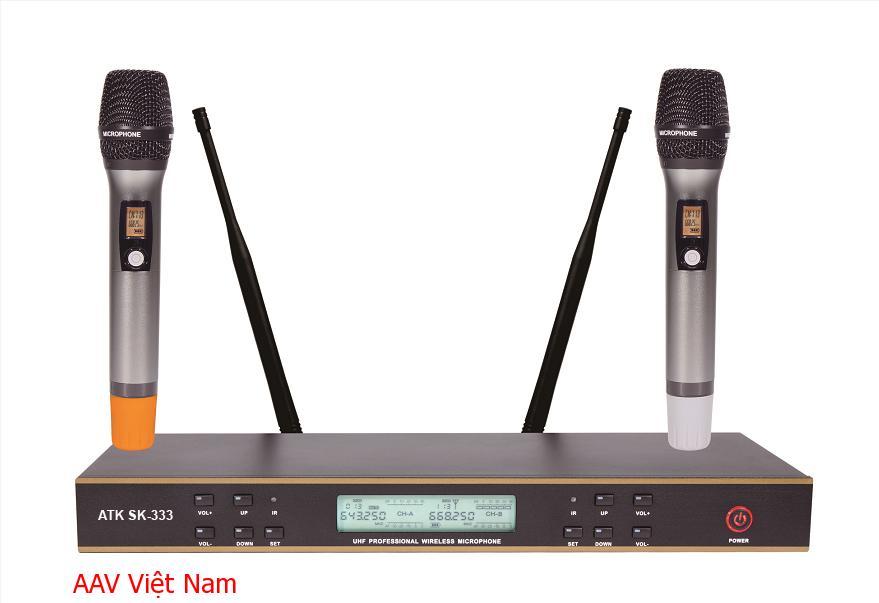Micro không dây chất lượng cao ATK SK-333