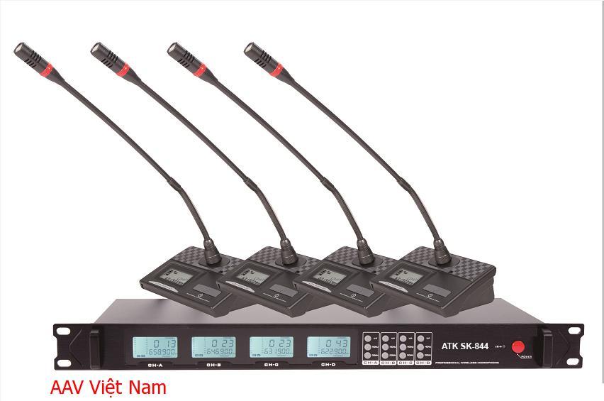Micro không dây chính hãng giá tốt ATK SK-844