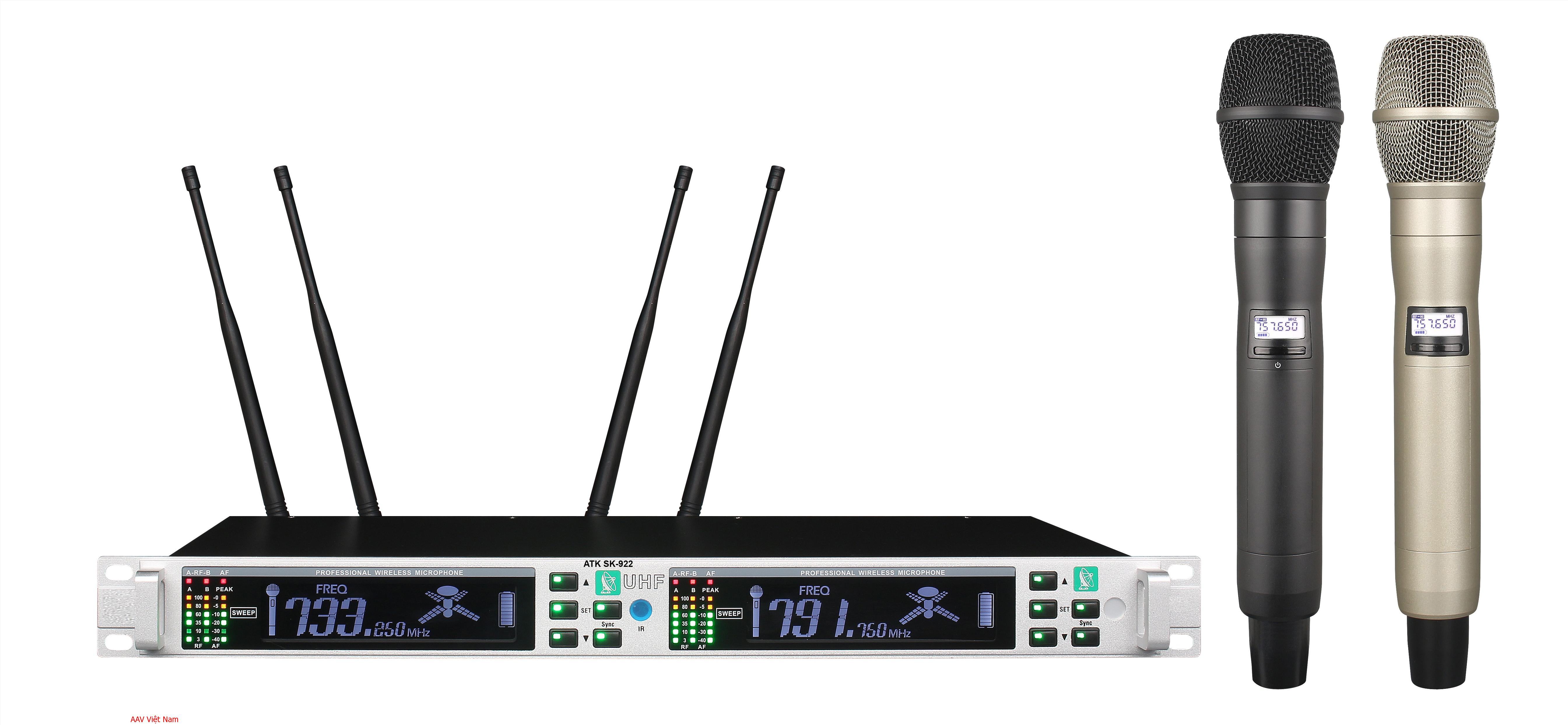Micro không dây chất lượng cao ATK SK-922