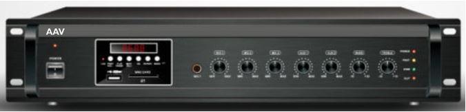 Tăng âm truyền thanh 500W cao cấp AAV VA-500