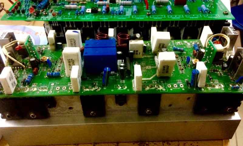bảng mạch của mixer chất lượng cao