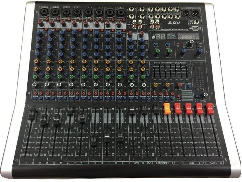 mixer cao cấp cho âm thanh chuyên nghiệp