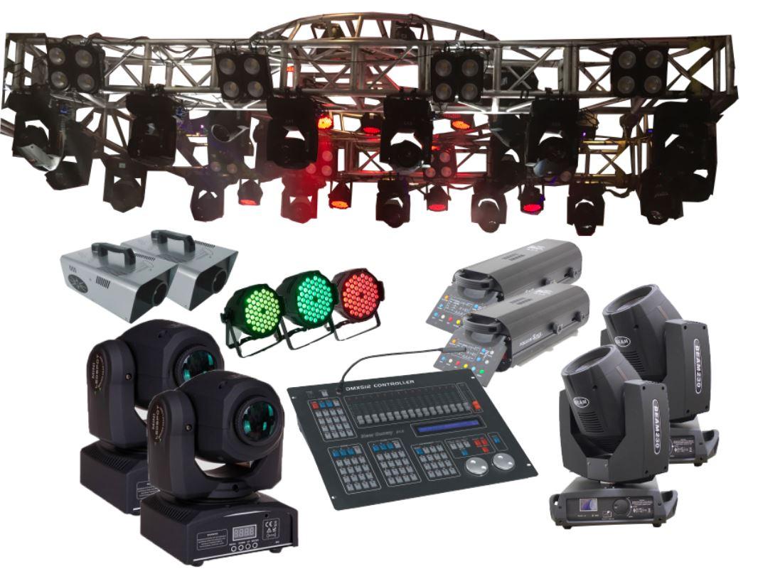 hệ thống ánh sáng hội trường tỉnh ủy chuyên nghiệp