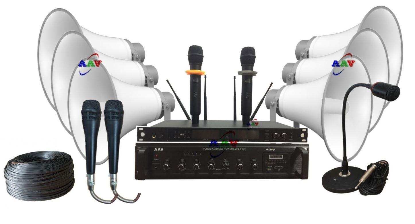 hệ thống âm thanh thông báo cho thôn xóm