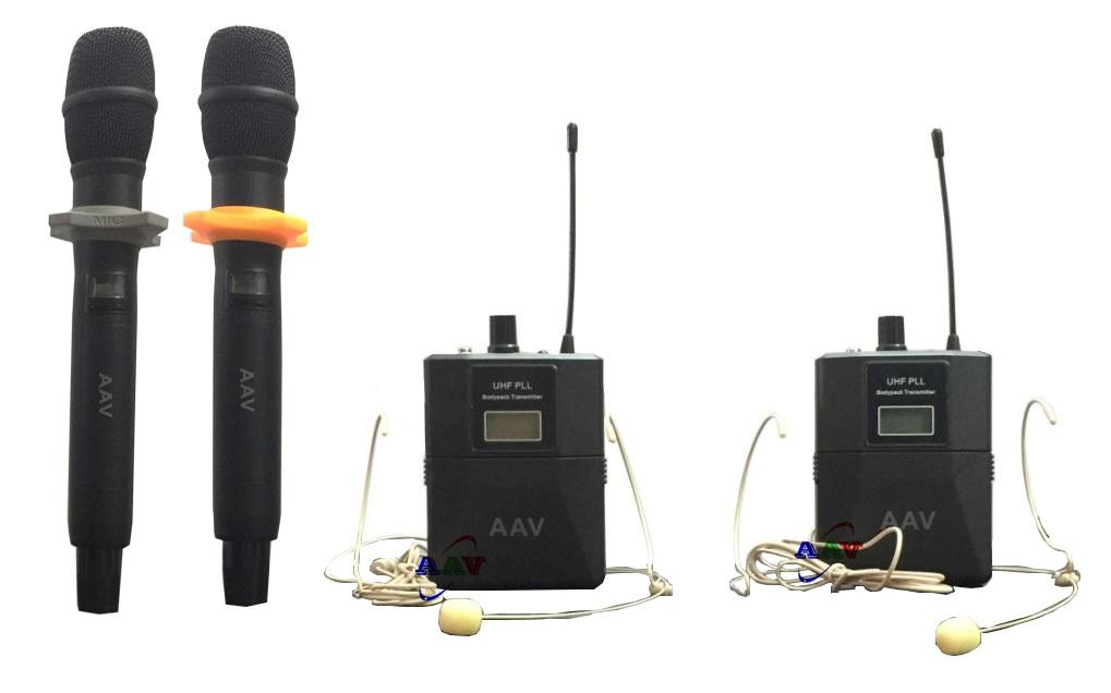 micro không dây cho dàn âm thanh phòng học