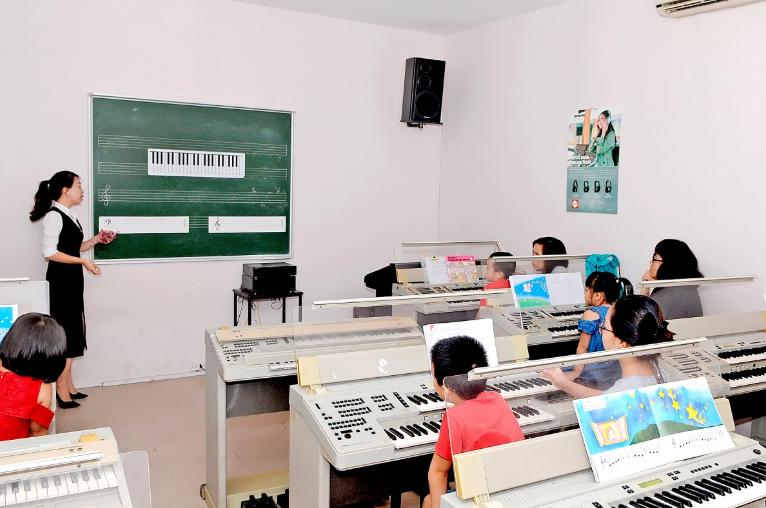 âm thanh phòng học nhạc