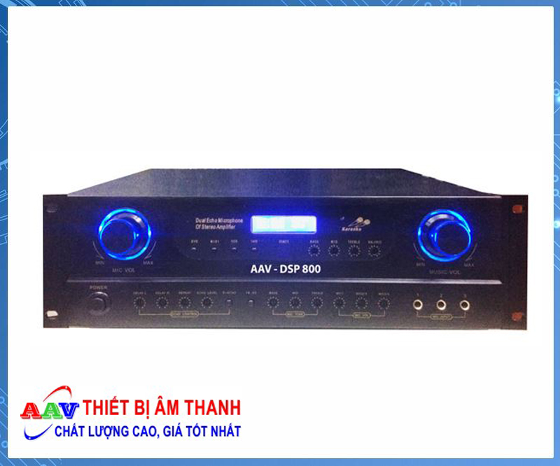 Amply karaoke AAV DSP 800