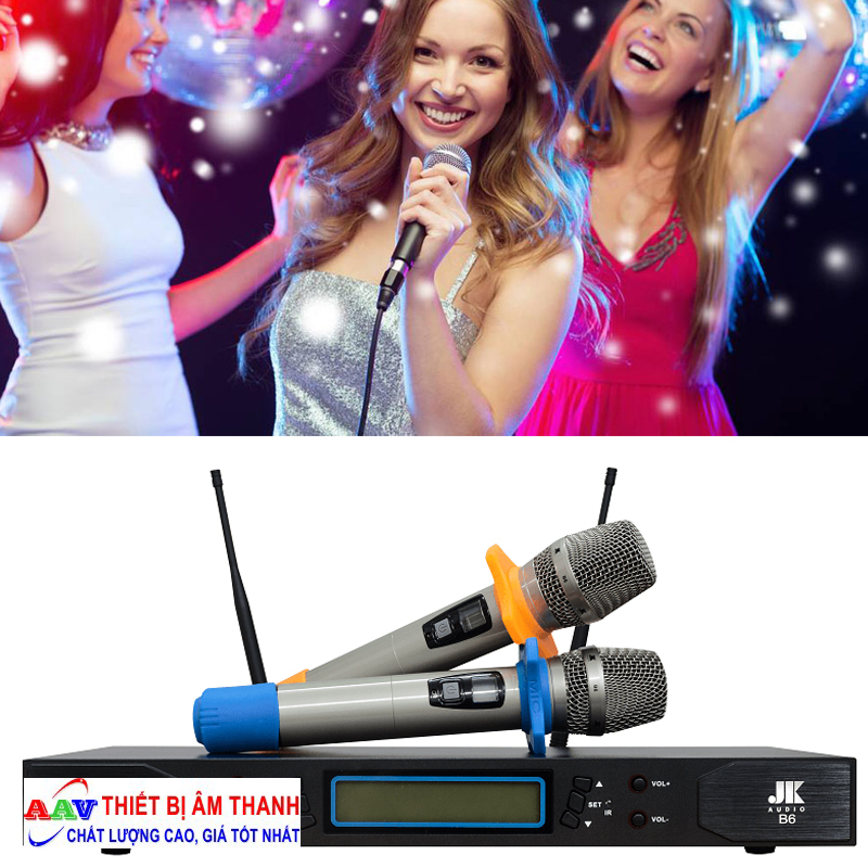 Điều chỉnh micro karaoke chống hú rít
