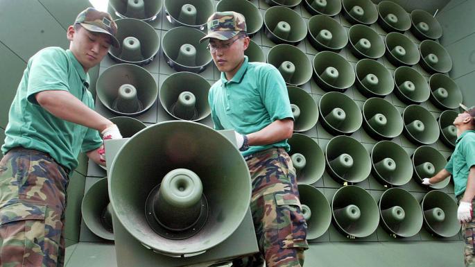 loa phóng thanh dùng trong quân đội