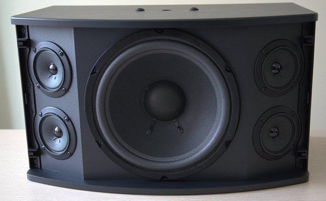 Loa phóng thanh do thiết kế  phát ở tần số cao