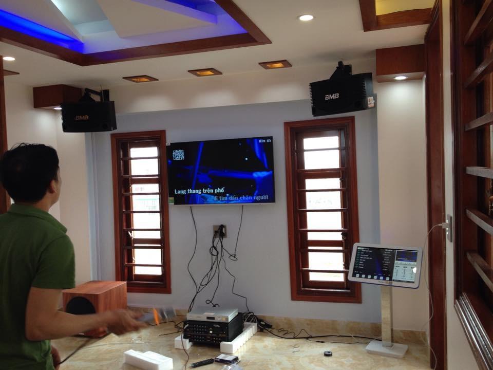 Tư vấn lắp đặt phòng karaoke gia đình tiêu chuẩn