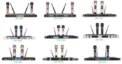 Hướng dẫn cách kết nối micro không dây và xử lý khi mic bị lệch tần số với đầu thu