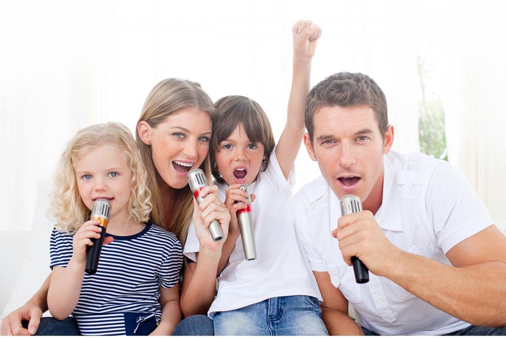 Những lưu ý khi sử dụng dàn karaoke gia đình