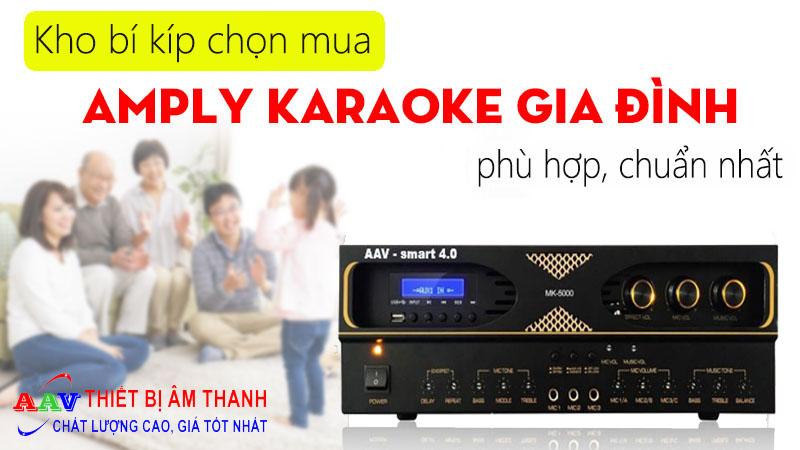 Kho bí kíp chọn mua amply karaoke phù hợp, chuẩn nhất